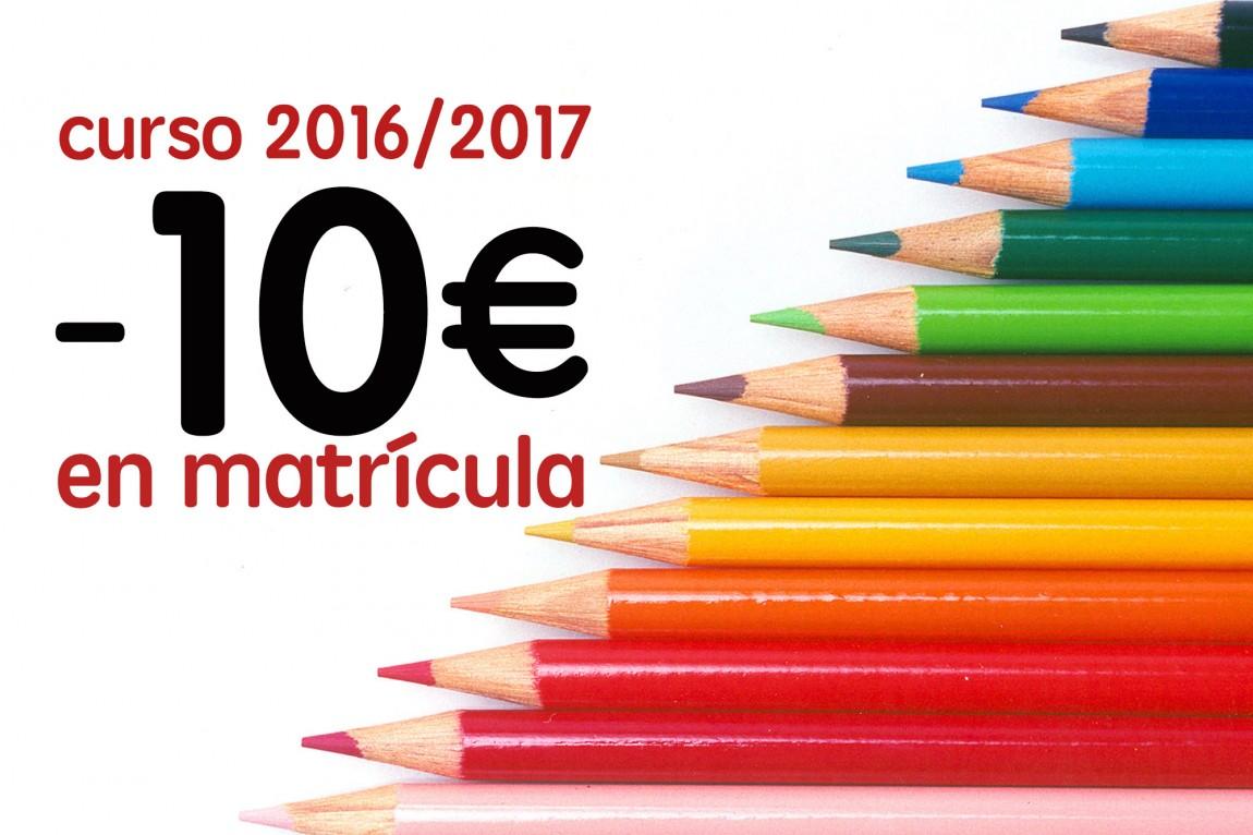 Matrícula Curso 2016/2017